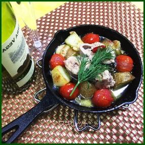 sukiretto716-1-201x300 スキレットレシピ 人気の1品料理