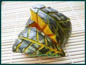 kiri919-1-202x300 かぼちゃの切り方 レンジで硬い皮も丸ごと簡単なコツまとめ