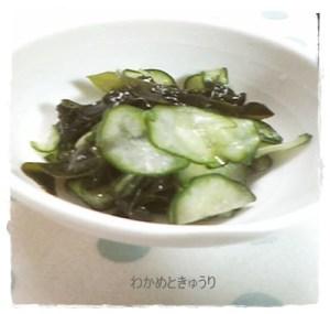 waka1-300x285 わかめときゅうりの酢の物 材料で日持ち・賞味期限が違います。