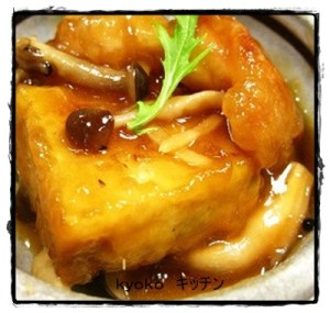atu1-1-300x285 厚揚げ豆腐 人気のあんかけレシピ・殿堂入り・話題入り