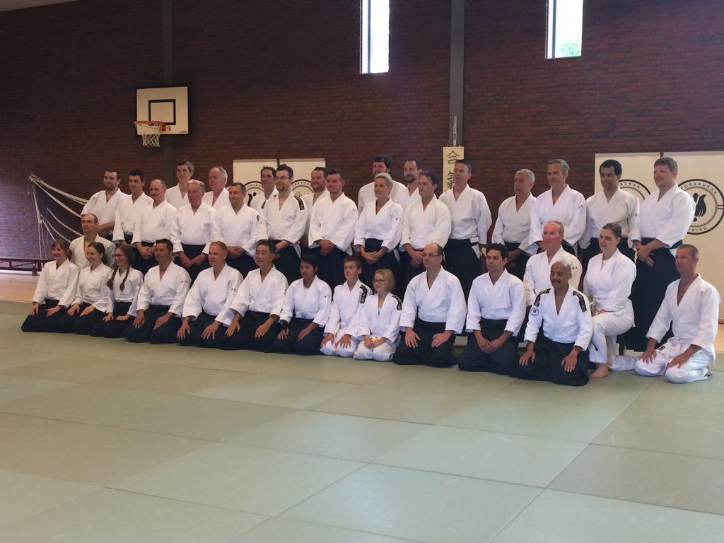 Groepsfoto Seminar Shishiya Sensei 2016