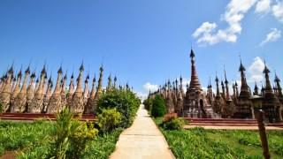 ミャンマーの秘境カックー遺跡