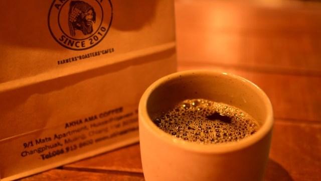 チェンマイおすすめカフェ「アカアマコーヒー」