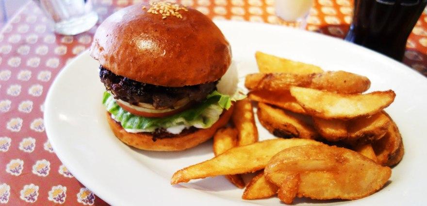 ザ バーガーカンパニーさんのハンバーガー