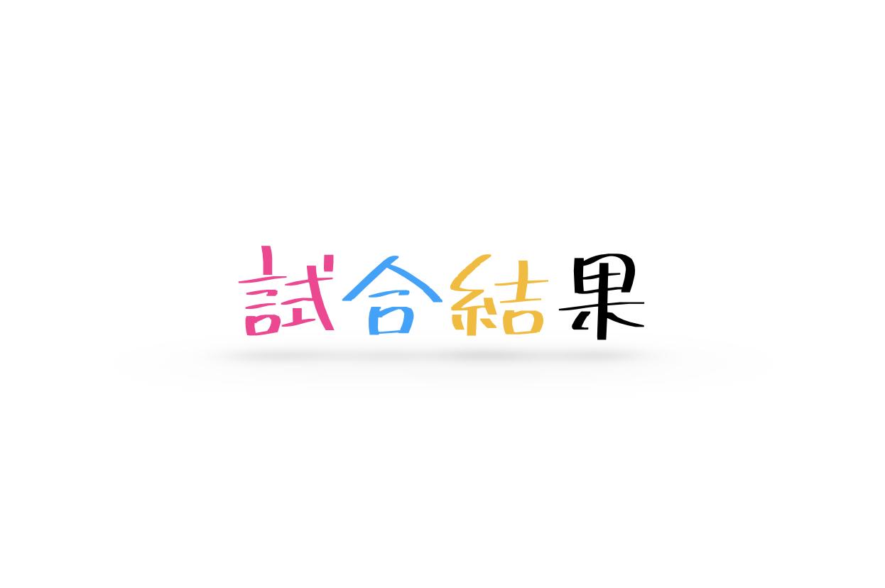 【高体連】春季卓球選手権大会(市1次予選) 個人戦結果