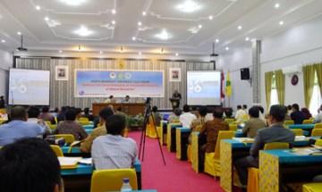 東カリマンタンで開催された第9回京都大学東南アジアフォーラムの様子