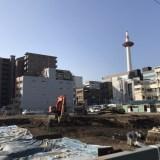 京都駅前 あの『(元)武富士の土地 』西側が動き出す