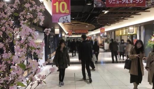 本日ポルタ東エリア改装OPEN!!  京風情たっぷり