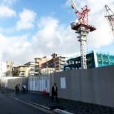世界遺産『二条城』前に『三井不動産』の高級ホテル建設中  & 御金神社