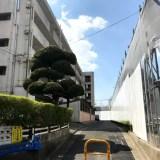 JR西大路駅近く、八条市営住宅解体中!!