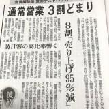 宿泊施設から住宅への転用!! 京都のゲストハウス・ホステル 通常営業3割どまり!! 客室稼働率5%未満!! 売り上げ95%減!! 廃業が50軒超!!