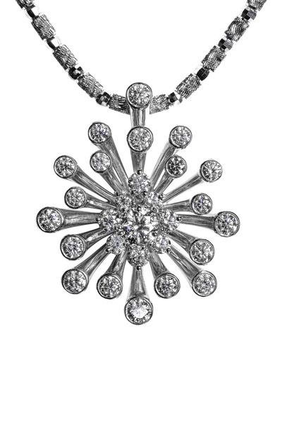 Diamond 0.353 ct D VS2, 3 EX (HC) Diamond 1.482 ct K18 WG