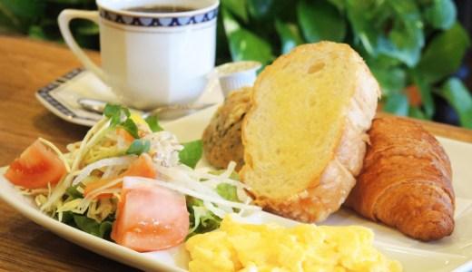 ☕京都カフェ「あるぺんローズ」のモーニングセット