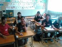 上京区新町小学校学校キャンプ