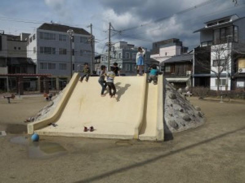 京都こども未来館滑り台