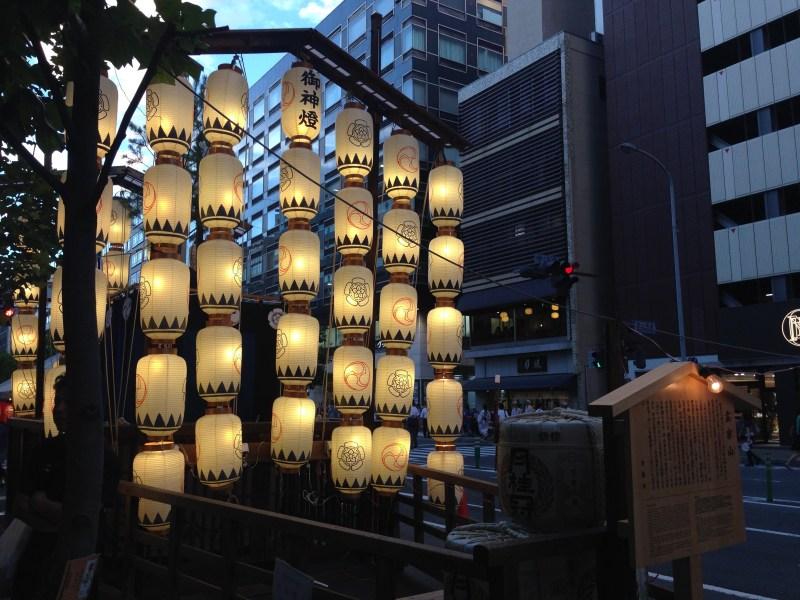祇園祭前祭山鉾