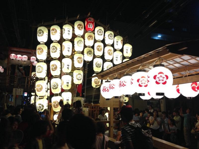 祇園祭前祭船