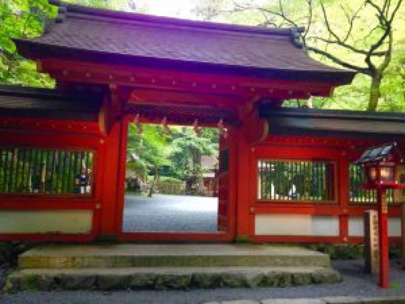 貴船神社赤門