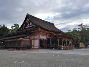 八坂神社本殿/Main hall of Yasaka Shrine