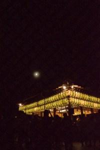 2016年八坂神社の観月祭