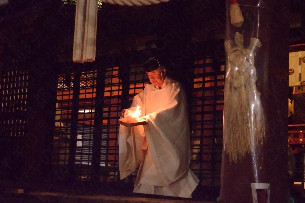 八坂神社の白朮祭