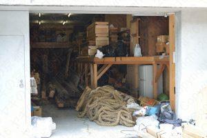 鶏鉾の倉庫