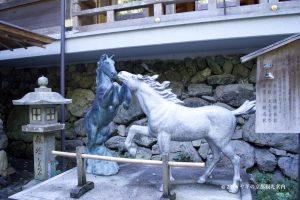貴船神社の絵馬の碑