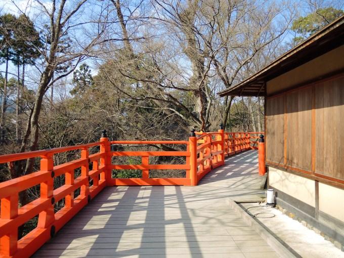京都「北野天満宮」お土居・舞台