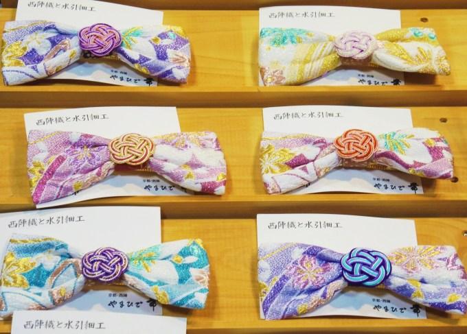 京都・西陣織・水引・髪飾り