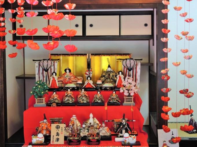 京都「法住寺」つり雛