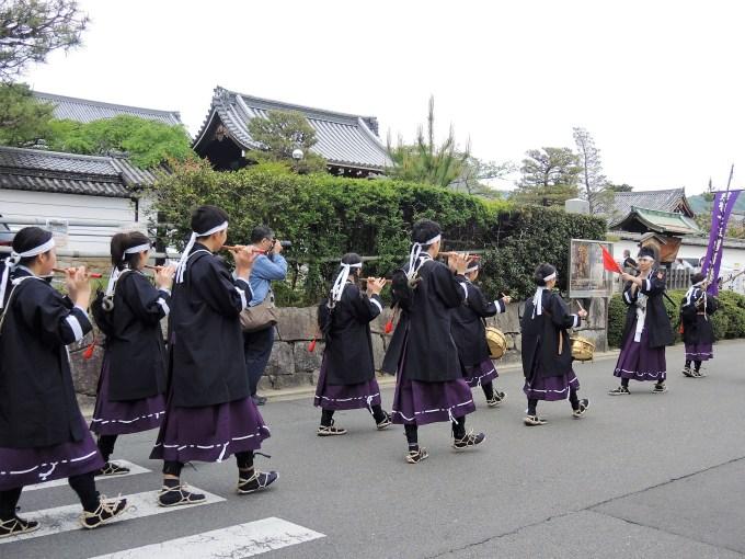 京都・熊野神社・神幸祭・熊野少年勤王隊