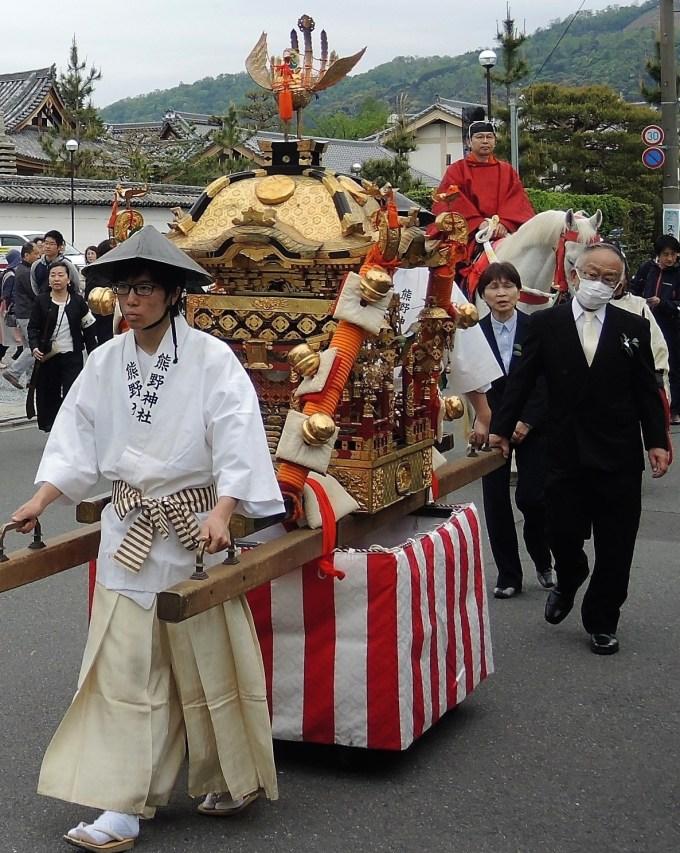 京都・熊野神社・神幸祭