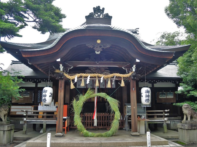 京都・熊野神社・夏越の祓