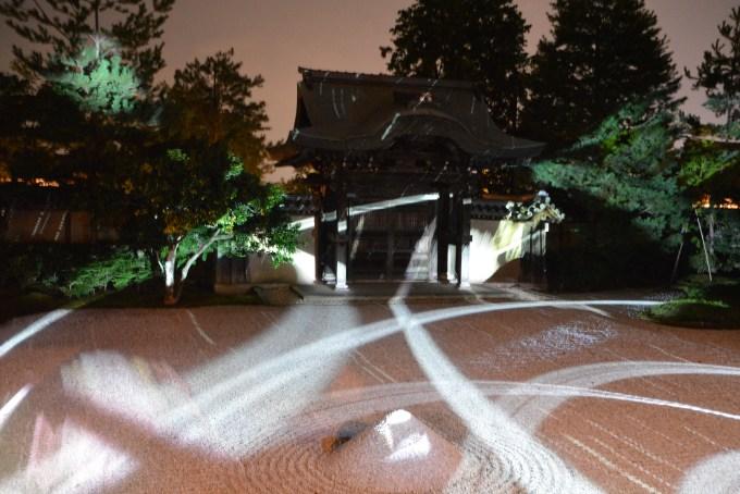 京都・高台寺・プロジェクションマッピング