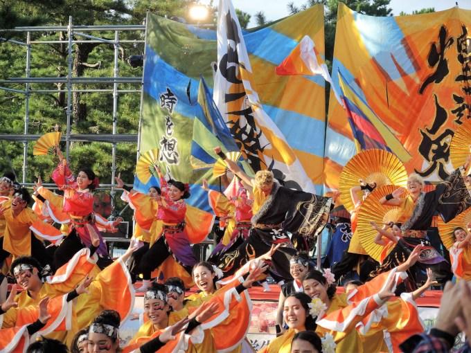京都学生祭典・京炎そでふれ・志舞踊