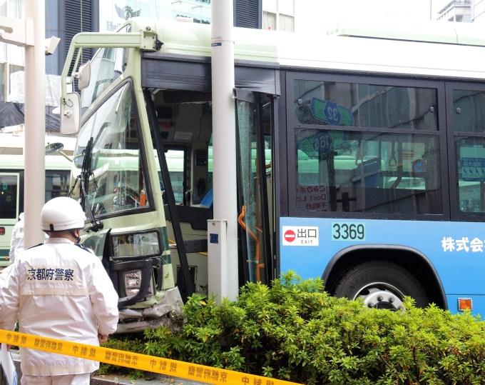 京都・四条河原町・市バス事故