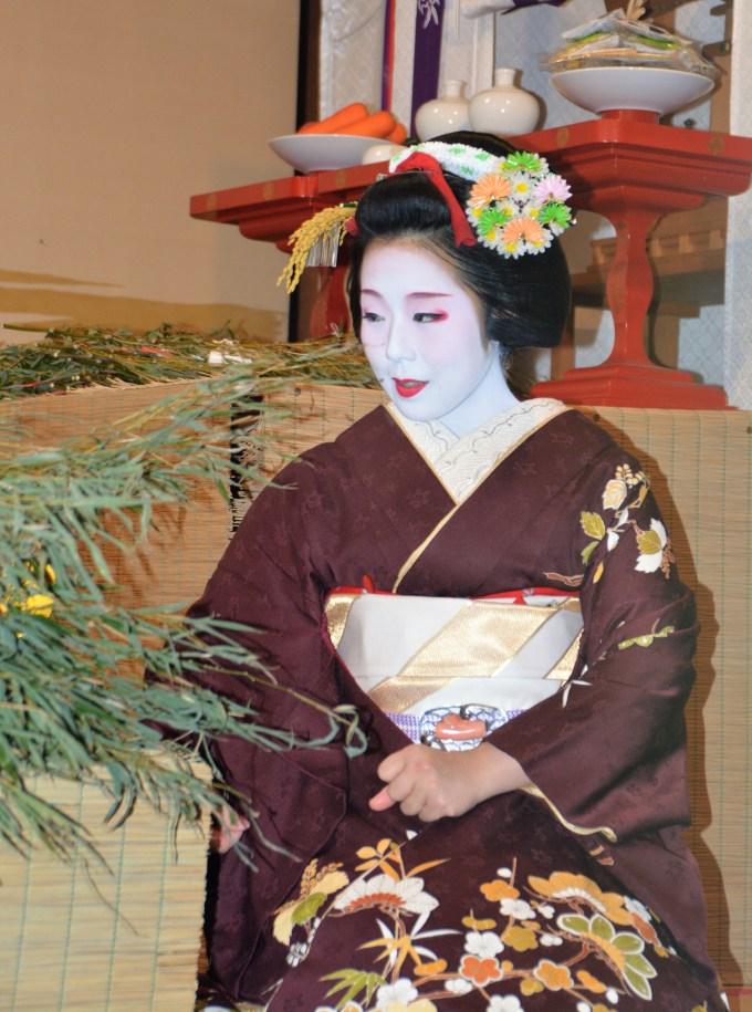 京都ゑびす神社・十日ゑびす・舞妓