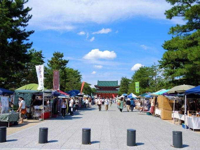 京都「平安楽市」