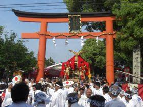 松尾祭還幸祭