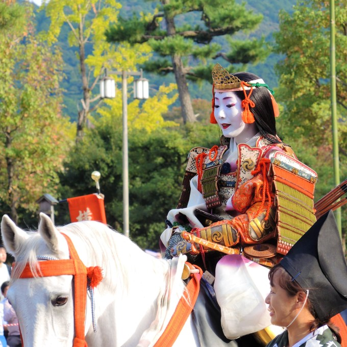 京都三大祭・時代祭・巴御前