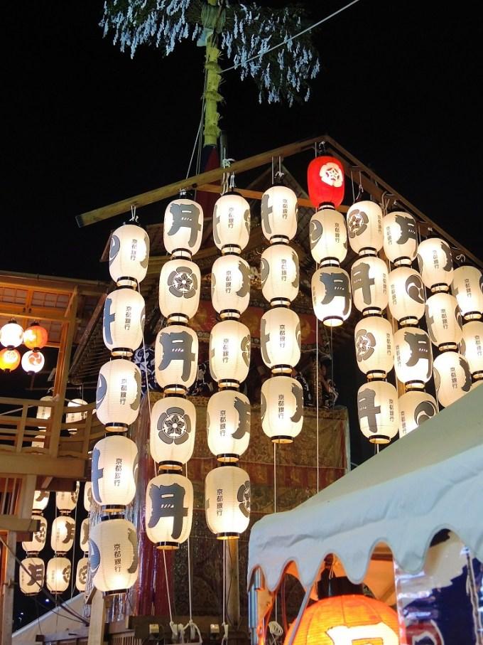 京都・祇園祭・宵山・月鉾