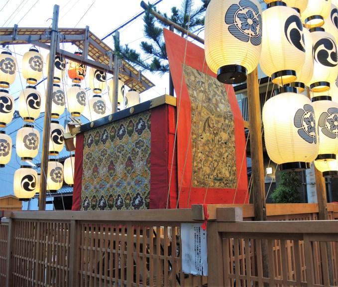 京都・祇園祭・宵山・芦刈山