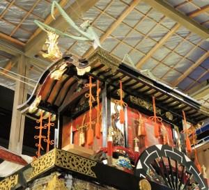 京都・祇園祭・宵山・蟷螂山