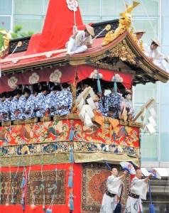 京都・祇園祭・山鉾巡行・長刀鉾