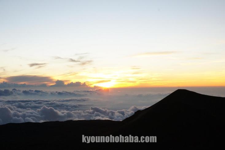 ハワイ島 マウナケア 山頂