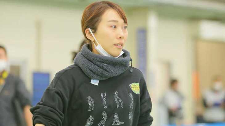 今井美亜選手のTOP画像です。