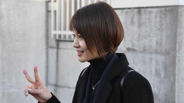 中澤宏奈選手のTOP画像です。