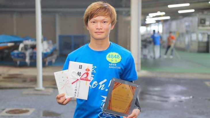 仲谷颯仁選手のTOP画像です。