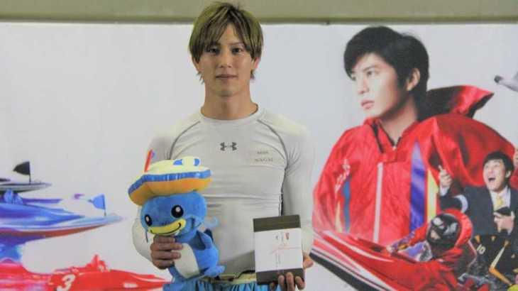 永井彪也選手のTOP画像です。