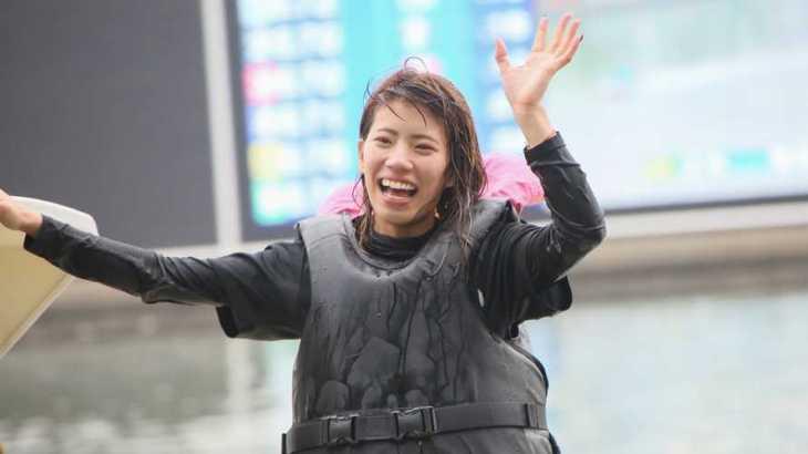 山下夏鈴選手のTOP画像です。